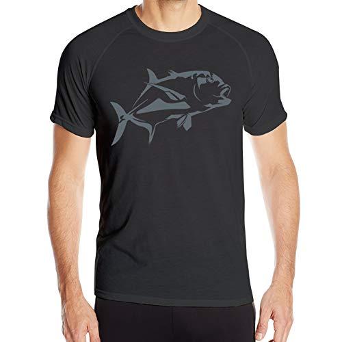 Sunshine - Camiseta de manga corta para hombre, diseño de peces de Ulua