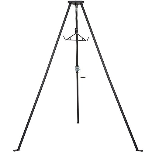 Rage Powersports Kill Shot DRC-DTP Tripod Game Hoist with Gambrel - 500 lb. Capacity
