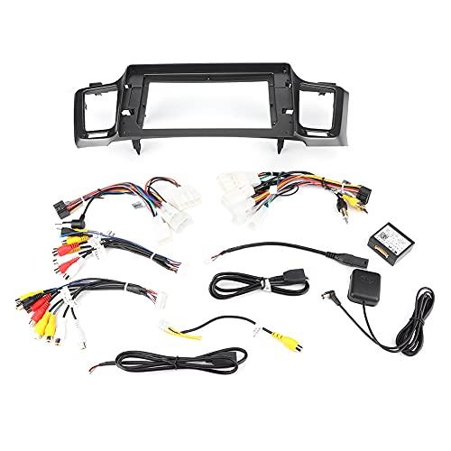 BOLORAMO Reproductor de Audio EstéReo para AutomóVil, 2Din 10.1In Bluetooth GPS para AutomóVil Reproductor Mp5 Audio EstéReo Radio FM para Android 9.1 Se Adapta A Toyota Rav4 13-19 Pantalla TáCtil
