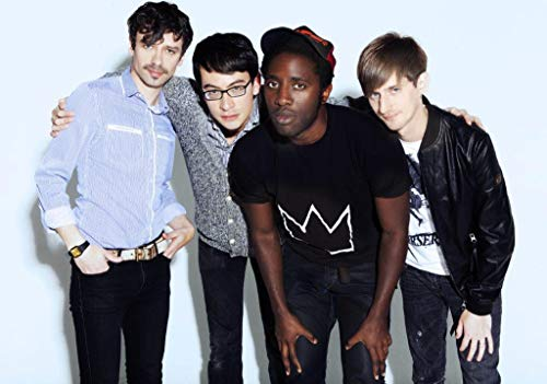 Desconocido Bloc Party Four Póster Foto a Weekend In The City Intimacy Kele Camisa 003 (A5-A4-A3) - A4