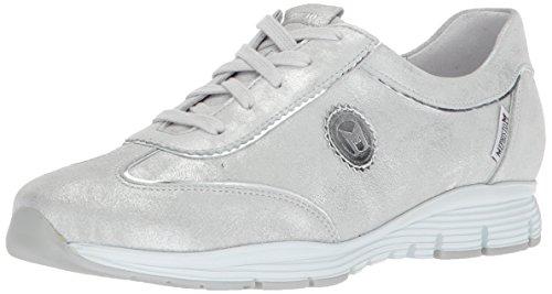 Mephisto Women's Yael Sneaker, Silver, 9 M US