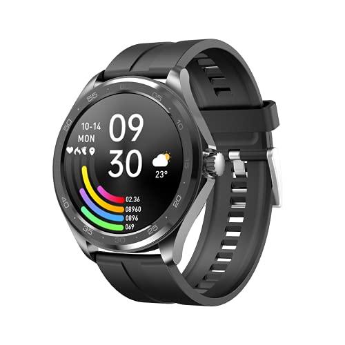El Nuevo Reloj Deportivo Pulsera de Monitorización de La Frecuencia Cardíaca Bluetooth Notificación de Información de Llamadas Pulsera Inteligente Adecuada para Deportes de