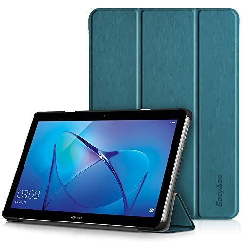 EasyAcc Hülle für Huawei Mediapad T3 10 Hülle, Ultra Schlank Schutzhülle Hülle mit Zwei Einstellbarem Standfunktion Für Huawei MediaPad T3 10 (9,6 Zoll),Pfauenblau