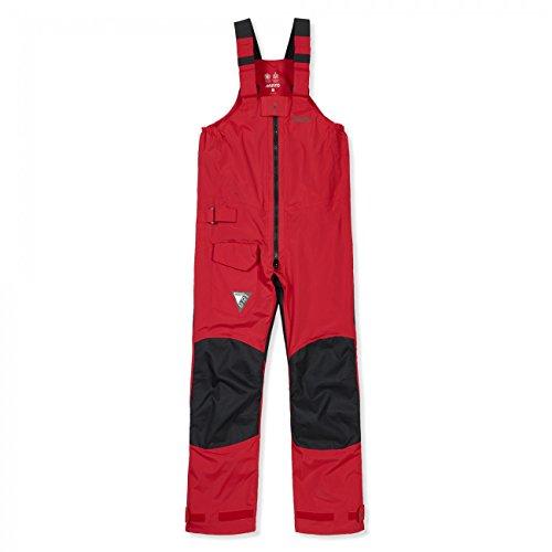 Musto Damen Herren Salopette BR1 Trousers Segelhose, Größe:L, Farbe:red