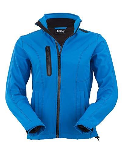 Eurowear Ladies Soft Shell Jacket EF602 Azzurro
