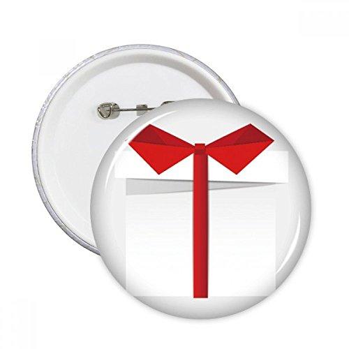 DIYthinker Regalo Botón blanco Resumen de Navidad regalo de Origami pernos redondos Placa Ropa decoración 5pcs Multicolor XXL