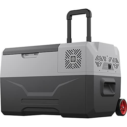 YUQIYU 12V Portátil Mini Frigorífico Compresor Coche refrigerador Frigorífico Camping (envío Excepto Islas Canarias) (Color Name : DC)