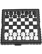 Magnetyczne szachy, szachownica szachownica szachownica, szachy dla dzieci do rodzinnych zajęć w podróży