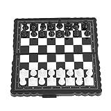 Clasken - Juego de ajedrez magnético, portátil para niños, juego de mesa para actividades familiares de fiesta
