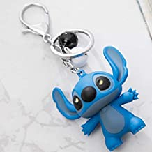 VIZIKS and Action Figure Cartoon Anime Led Keychain Sound Key Ring Novelty Toys Kids Birthday Gifts -Multicolor Complete Series Merchandise