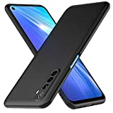 Peakally Cover per Realme 6 in TPU Opaco, Morbido TPU Custodia Cover Slim Anti Scivolo-Nero