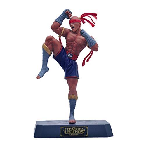 ZfgG - Figura decorativa para decoración de mano, diseño de la liga de héroes LOL Li Qing