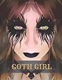 GOTH GIRL: Face Makeup Contouring Technique Chart For Beginners Go-to Artist or Fun (Goth...