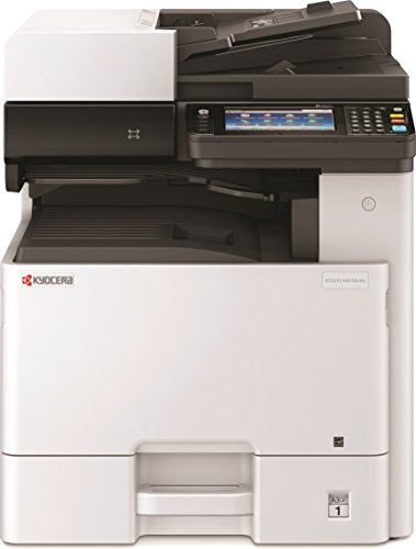 Kyocera 1102P32US0 Model ECOSYS M8130cidn Color A3 MFP Multi-Function Laser Printer (Print/Scan/Copy/Fax), 30 ppm Color, Resolution 600 x 600 dpi Up To Fine 1200 x 1200 dpi, Duplex, HyPAS Capable