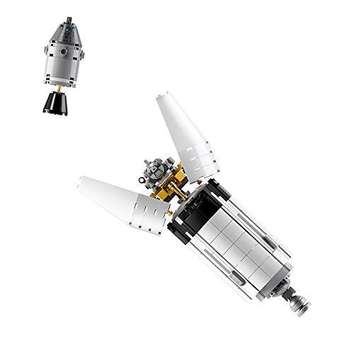 Fusée Saturn V Mission Programme Apollo LEGO NASA 21309 - 1969 Pièces - 2