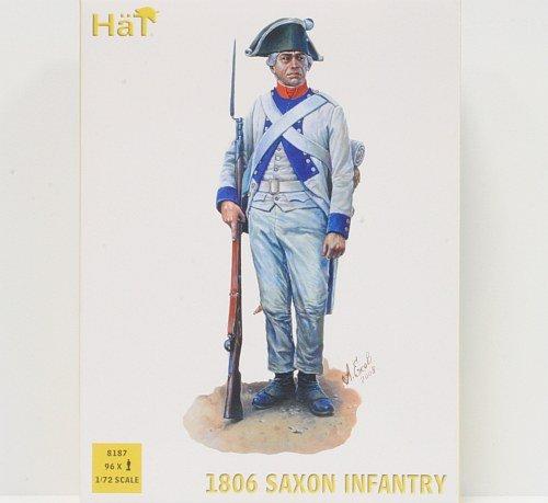 HäT 8187 1806 Figurine d'infanterie saxone