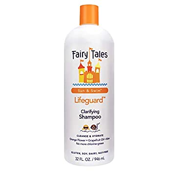 Fairy Tales Swim Shampoo for Kids - 32 oz   Made with Natural Ingredients in the USA   Chlorine Removal Swimmer Shampoo for Kids   No Parabens Sulfates or Synthetic dyes