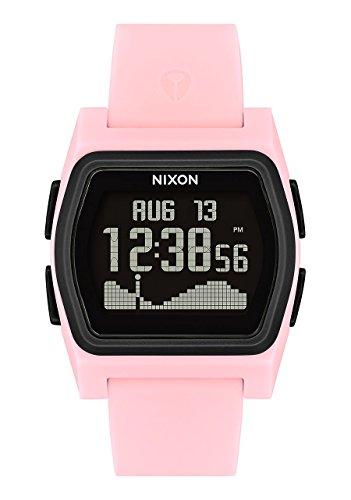 Nixon Herren Digital Smart Watch Armbanduhr mit Silikon Armband A1236-2531-00