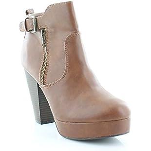 Matterial Girl Raelyn Women's Boots, Cognac, Size 9.5 US / 7.5 UK US
