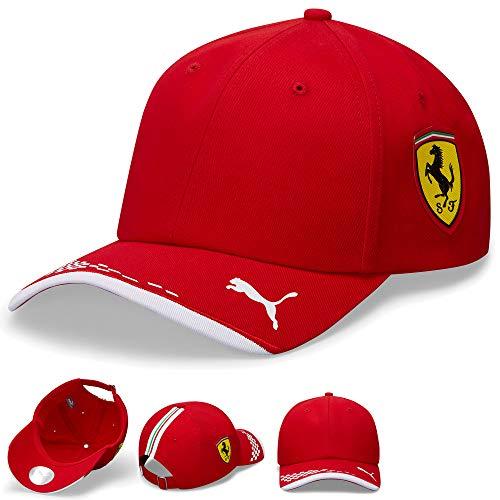 2020 Scuderia Ferrari F1 Team Driver Caps Leclerc Vettel in Erwachsenen- und Kindergrößen, Ferrari F1 Team Cap, Adults One Size
