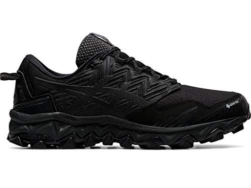 ASICS Men's Gel-Fujitrabuco 8 G-TX Running Shoes, 10M, Black/Black