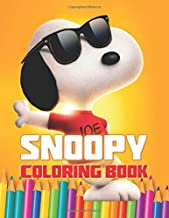 Snoopy Coloring Book: Great 21 Illustrations for Kids