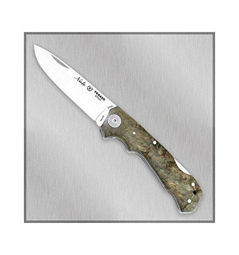 CUCHILLERIAALBACETE Couteau de Poche avec système de Verrouillage Nieto Pegaso 300