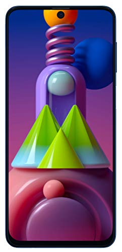 Samsung Galaxy M51 (Electric Blue, 6GB RAM, 128GB Storage)