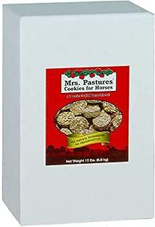 Mrs. Pastures Cookies for Horses - (15lb Refill Box)