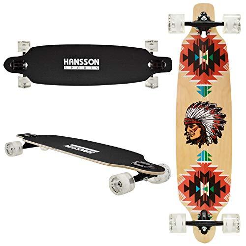 Hansson.Sports Top Longboard Komplett Skateboard Long Board 39