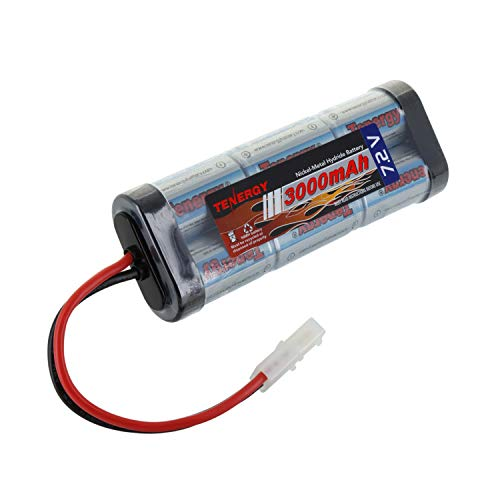 Tenergy 7.2V 3000mAh NiMH Flat Battery