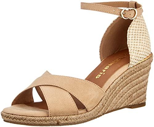 Tamaris Damen Sandalette 1-1-28026-36 333 braun normal Größe: 39 EU
