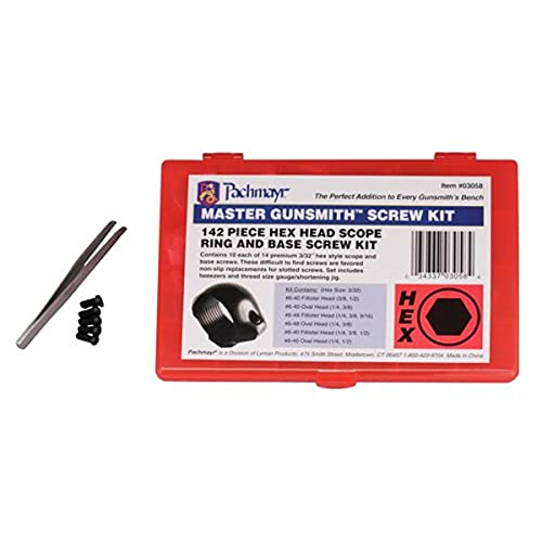 Pachmayr Master Gunsmith Hex Head Ring and Base Screw Kit,...