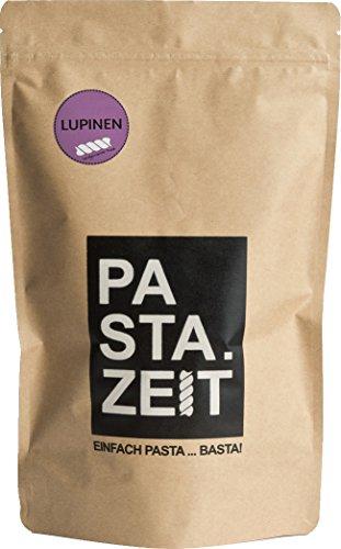 Pastazeit Bio Lupinen Fusilli, Low Carb Nudeln, Proteinreich, handgemacht, Vegan, Weizenfrei (5x300g)