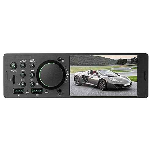 Universal 4.1 Pulgadas Dual USB TFT TFT Coche Stereo MP5 Player FM Radio Bluetooth 4.0 USB con cámara Auto Multimedia Player (Color : Without Camera)