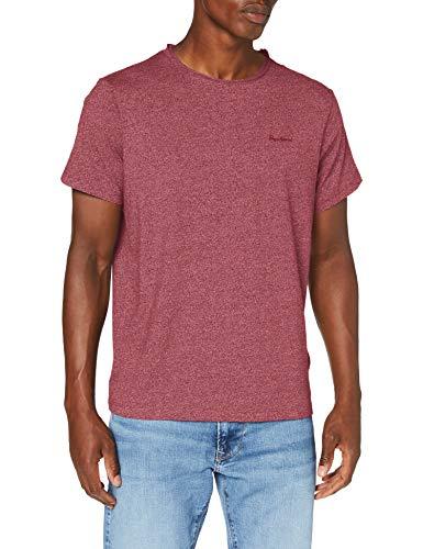 Pepe Jeans Paul Camiseta, Rojo (Lotus Red 296), X-Large para Hombre