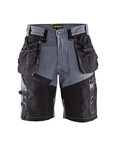 Handwerkershorts, C50, grijs/zwart