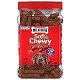 Milk-Bone Chewy Filet Mignon Flavor Treats For Dogs 25-Oz Box
