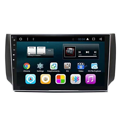 TOPNAVI 10.1Inch Android 7.1 Lecteur de Voiture pour Nissan Sylphy 2012 2013 2014 2015 2016 Voiture Navigation Radio Stéréo RAM WiFi 3G RDS Lien Miroir FM AM BT Audio Vidéo