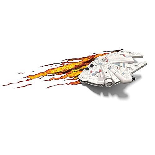 Luminaire Applique - surnom de Star Wars Millennium Applique décorative de Bureau Millennium Falcon 3D (Couleur : A)
