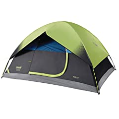 Dark Room technology blocks 90% of sunlight so you can sleep in past sunrise; it also reduces temperatures inside the tent for a comfortable night's sleep Stay dry thanks to the Weather Tec system with its tub-like floor, patented corner welds, and p...