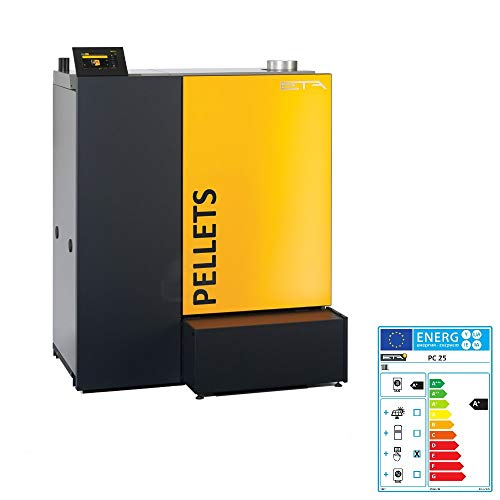 ETA Pelletkessel PC 25 PelletsCompact Touch 25 kW Pelletheizung Regelung