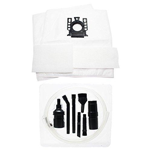 12 sacs de rechange Aspirateur Miele Complete C2 édition limitée avec 12 micro filtres & 7 Micro Kit de fixation – Aspirateur Compatible Miele sacs aspirateur Type GN de (6, 2 sacs par lot)