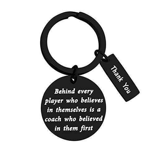 TIIMG Coach Gift Team Gift Coach Appreciation Gift Thank You Gift for Coach End of Season Coach Gift Team Mom Gift (Coach Thank You Black)