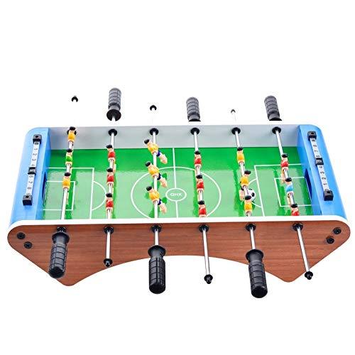 XSLY Regalos de Juguetes de Mesa Fútbol Deportes de Seis Tabla Par de Fútbol Tabla interactiva for niños Juegos de Mesa creativos de la Historieta Deportes de Interior Juguetes