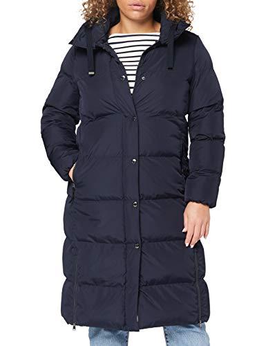 BRAX Damen Style Ascona Daunenmantel, Navy, 38