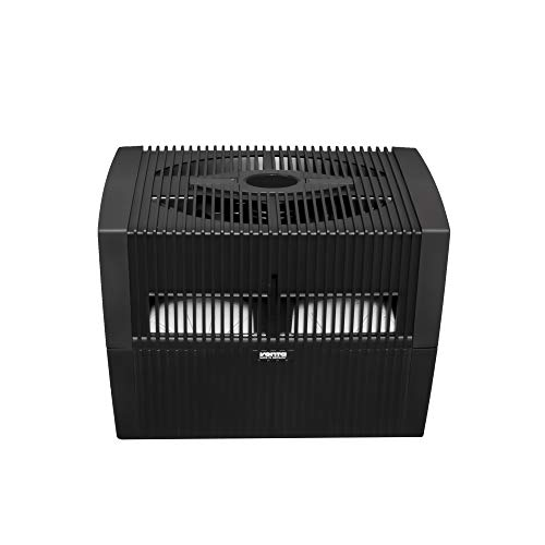 VENTA LW45 Comfort Plus Airwasher Humidifier, 860 Square Feet, Black