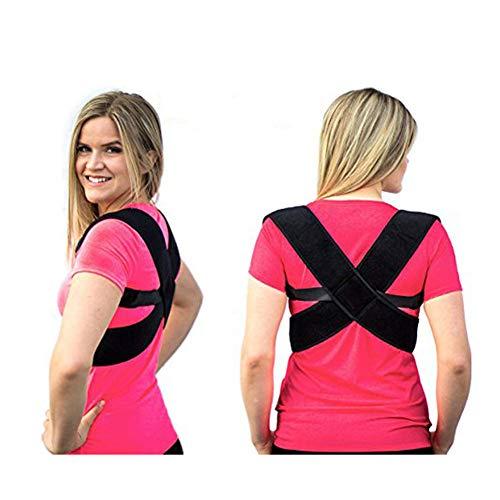 Corrector de Postura para Espalda Hombro y Clavícula Hombre y Mujer Soporte Ajustable Unisex de Calidad para Mejorar Postura y Aliviar Dolor Apoyo de Columna y Tronco Cifosis Órtesis de clavícula