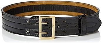 Safariland Bianchi 87V-36-9B 87V Sam Brown w/Hook Lining 2.25  36  Waist Hi-Gloss Black w/Brass Snap Closure Multicolor One Size