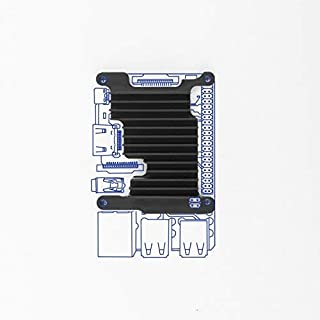 Kintaro Custom Aluminum Raspberry Pi Cooling Heatsink – Single Board Computer Kit Includes Heat Sink, Thermal Compound Paste and Screws - (Raspberry Pi 3 Model B+)